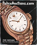 Jean Lowe, Police Auction (Fine Watches)